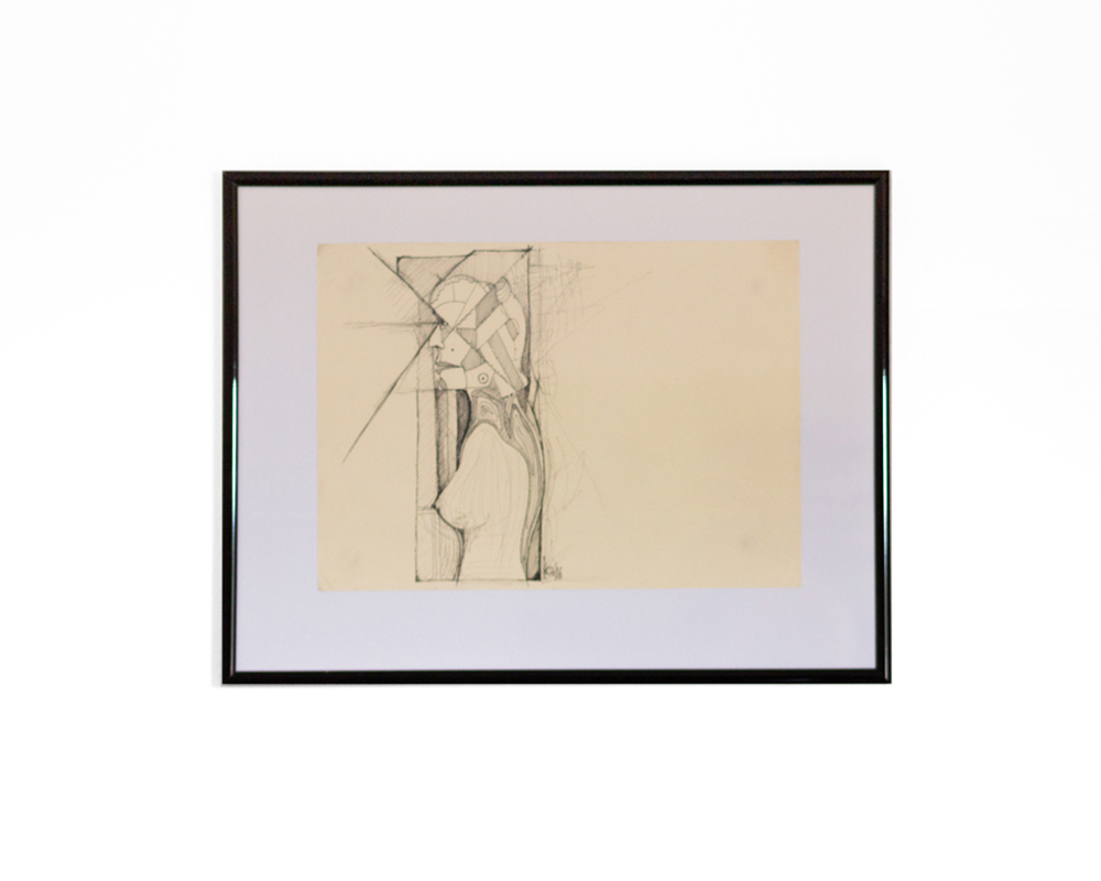 Grenzregionen - Original - Bleistift Zeichnung