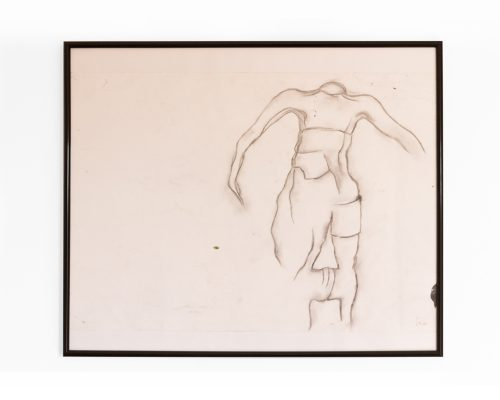 Körperkult - Original - Kohlezeichnung