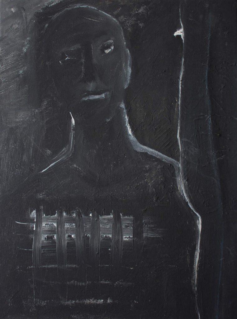 Portrait 006 - Original - Acryl auf Leinwand