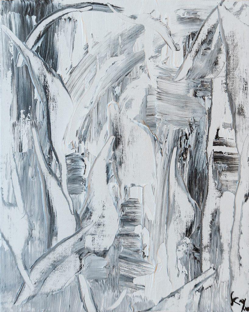 Head Abstract - Acrly Malerei