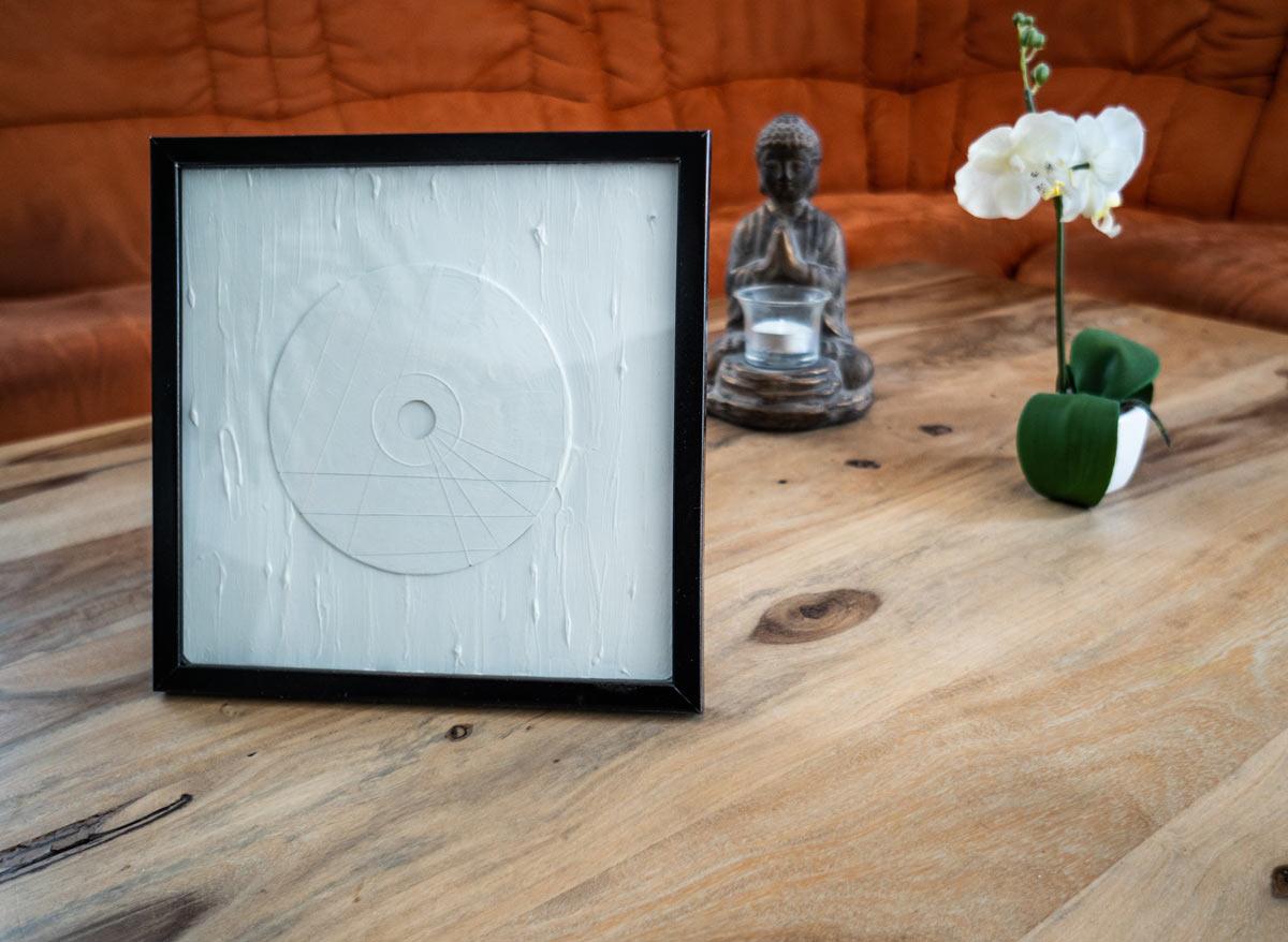 CD Kunst - CD Raum 2 mit Dekoration
